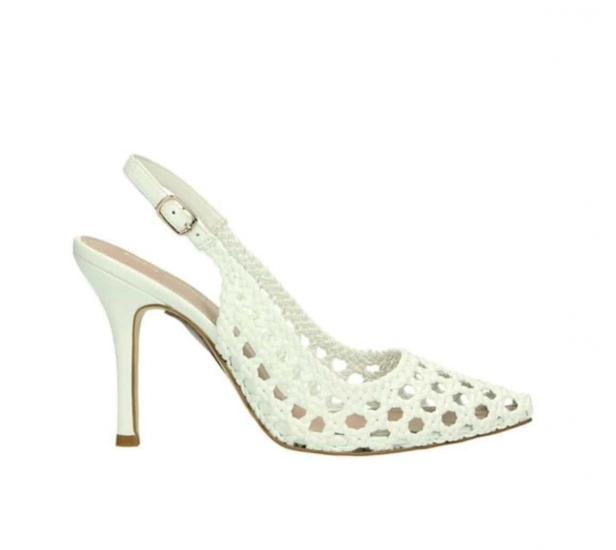 Tata scarpa tacco medio chiara elegante 2021 2022