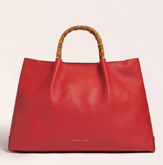 Guess 2021 autunno borsa rossa