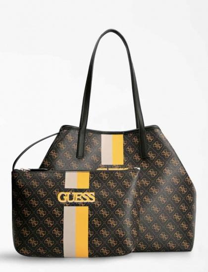 shopper borsa Guess per autunno inverno logo e scritta