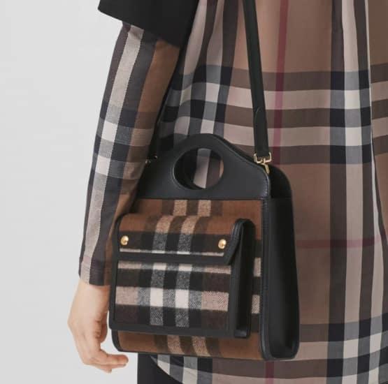 autunno inverno collezione prezzi borse Burberry