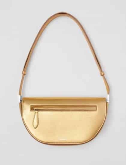 Burberry borsa colore oro