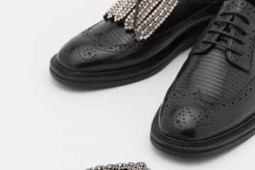 Inglesine Max Mara nere scarpe 2021 2022 autunno inverno